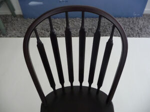6 Maple Bow Back Chairs - stunning