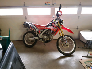 2014 CRF250L street and trail