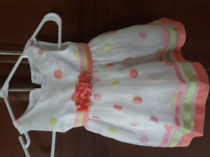 Baby girl's dresses & shoes