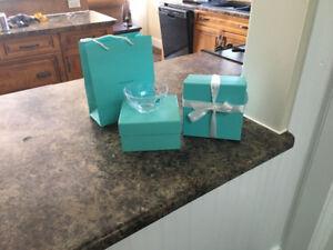 2 Tiffany Chrystal cases