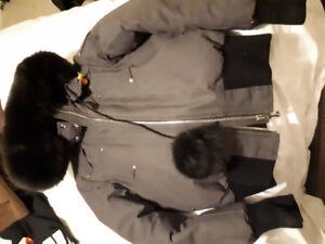 Moose knuckle bomber jacket