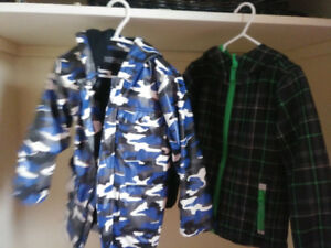 Boys Fall and Rain Jacket