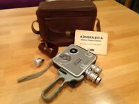 Meopta admira 811a motion picture camera.