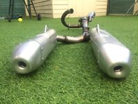 CRF450R 2014 Exhaust Great Condition