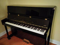 Mintly used upright piano ( 4 years old)