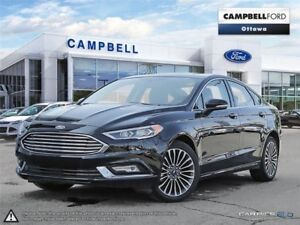 2017 Ford Fusion SE AWD-LEATHER-LOADED-