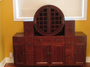 Antique Reproduction Chinese Buffet