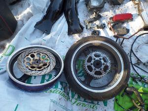 Suzuki GSXR 1100 rims and other parts