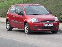 2008/08 Ford Fiesta 1.25 Style, 6 MONTHS COMPREHENSIVE WARRANTY