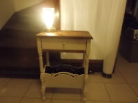 Nice Antique Refinished Hall or Side Table