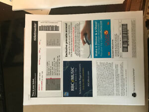 Two Christina Aguliura concert tickets at Rama Oct 11 for sale