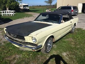 1966 Mustang Convertible project