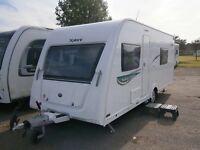 Elddis xplore 504 caravan 2 year old
