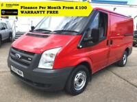 "2007 ""57"" Ford Transit 2.2 260S Low Roof Panel Van,1 Owner, FSH ( swb 280 300SWB"