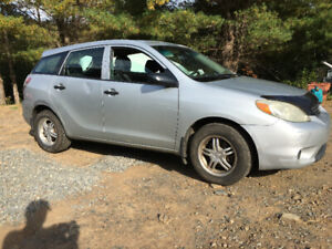 Fuel Efficient 2006 Toyota Matrix Automatic