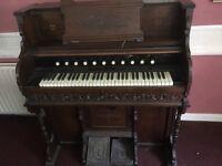 Organ dark wood