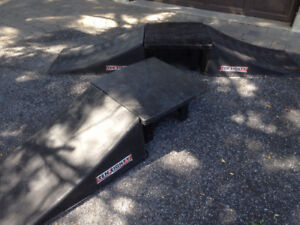 Bike or Scooter Jump Ramps