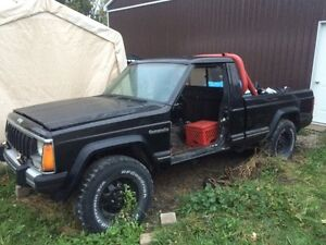 Jeep Comanche short box