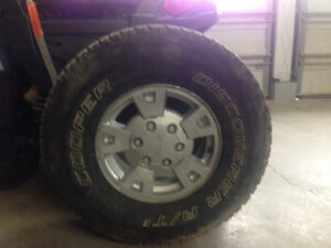 265/75R15 Tires and Rims