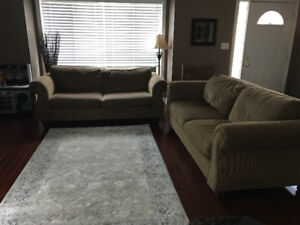 Two couches-Price Negotiable