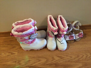 Girls winter boots/sandals
