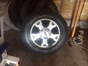 Ford F-150. Rims tires sensers