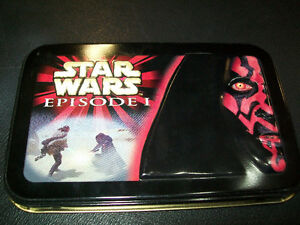 Star Wars Episode 1 Limited Edition Tin with Playing Cards 1999