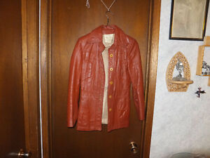 Vintage - 100% Leather Jacket - Made in Canada