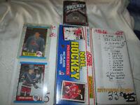 Cartes de hockey OPChee (séries complètes) et autres
