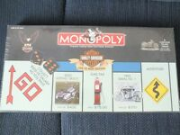 HARLEY DAVIDSON MONOPOLY LIVE TO RIDE 8 TOKENS / BLACK DICE