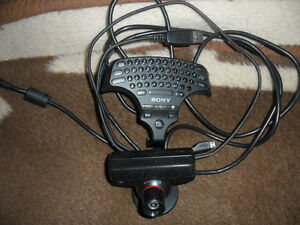 PS3 Camera and Keyboard for Joystick Very good shape. 60$ Gatineau Ottawa / Gatineau Area image 1