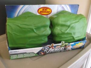 avengers hulk green smash fists
