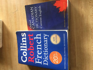French dictionary and English dictionary