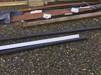 Guttering window sill etc