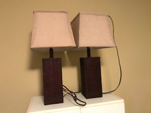 Lamps for living room or bedroom