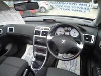 2006 Peugeot 307 CC S Coupe Cabriolet 1.6 2dr