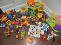 Lot de jouets très propre