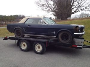 1966 Ford Mustang Project