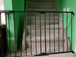 Baby gate extendable