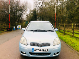 TOYOTA YARIS 2005 5DR MOT TILL FEBUARY 2022 IDEAL FIRST CAR