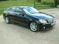 2010 Mercedes-Benz C Class C350 CDI BlueEFFICIENCY Sport 4dr Auto OBSIDIAN BLACK