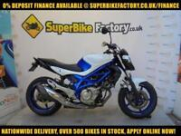 2012 12 SUZUKI GLADIUS 650 650CC 0% DEPOSIT FINANCE AVAILABLE