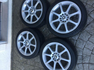 5x114.3 & 5x110. 17 inch eagle alloy