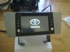 toyota solora navigation bluetooth radio dvd audio headunit