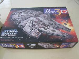Millenium Falcon Star Wars-Wrebbit Puzz 3D puzzle London Ontario image 1