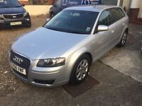 2007 Audi A3 TDi 2.0 SE Sportback 12 Months MOT 2 Owners Full Service History 2 Keys Air Con