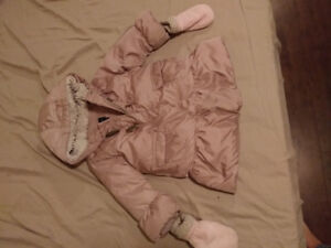 Toddler girl jacket- fall and winter