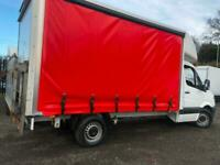 MERCEDES SPRINTER VW CRAFTER EURO 5/6 CURTAIN SIDE LUTONS BOX VANS +/- TAIL LIFT