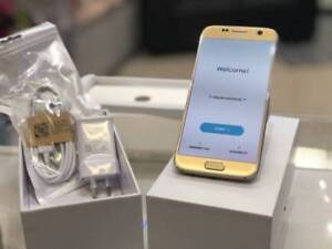 Genuine Samsung Galaxy s7 32gb Gold tax inv unlocked 2yrs wrnty Surfers Paradise Gold Coast City Preview