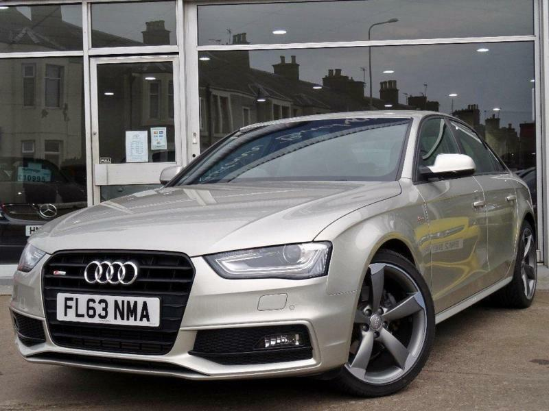 2013 audi a4 2 0 tdi black edition 4dr in kirkcaldy. Black Bedroom Furniture Sets. Home Design Ideas